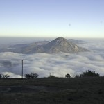 Nandi Hills surrounded by low hanging cloud. Photo: Koshy Koshy, flickr.com/kkoshy